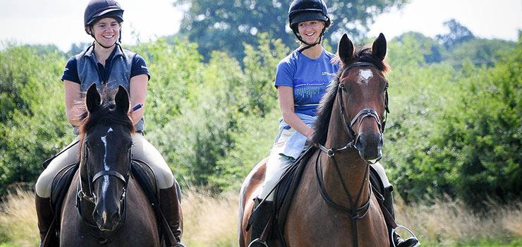 summer horse ride
