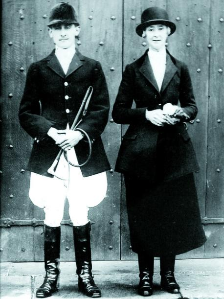 James and Katherine Croft, who organised the 1930 ball at their ancestral family home. Picture courtesy National Trust.